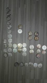 10 DM Sondermünzen