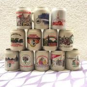 12 Bierkrüge vom