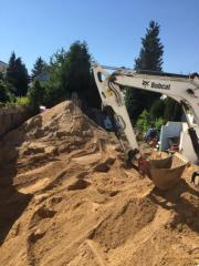 150 Kubikmeter Sand