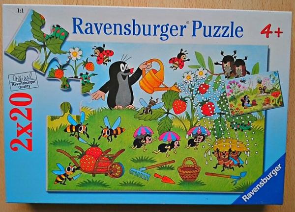 Kinder puzzle der kleine maulwurf von ravensburger in