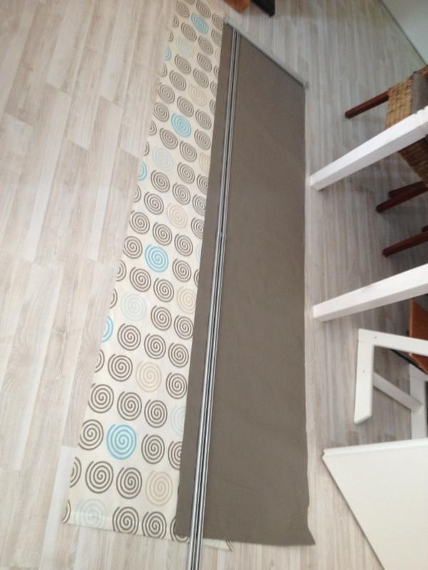 2 schiebegardinen incl laufschiene in herxheim gardinen. Black Bedroom Furniture Sets. Home Design Ideas