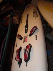 2 Windsurfboards mit