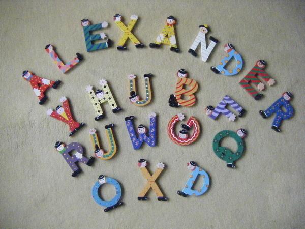 Buchstaben Kinderzimmer Sevi ~ Die beste Idee Idee für Kinderzimmer ...