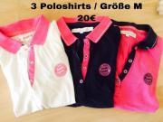 3 Poloshirts