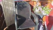 4 hochwertige Gartenstühle