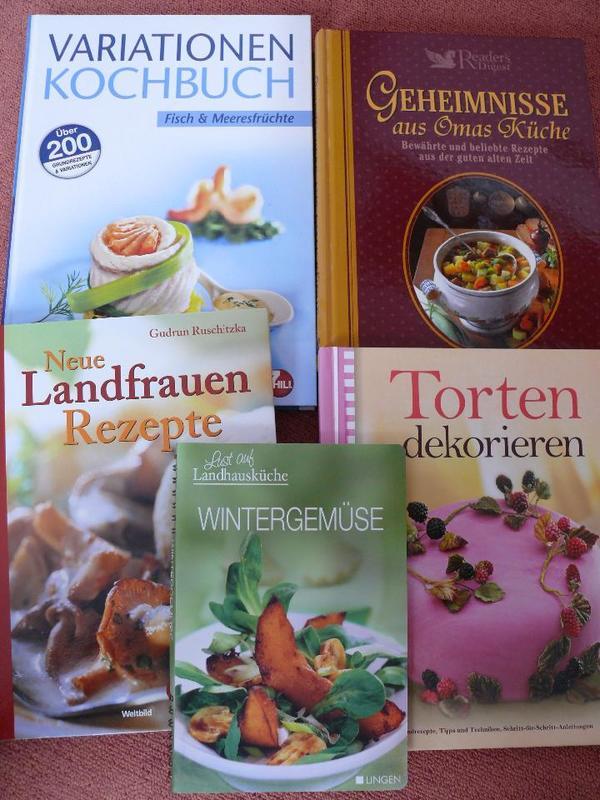 Gebraucht, 5 x Buch kochen backen Fisch Torten gebraucht kaufen  85354 Freising