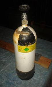 5Liter Stahl-Pressluftflasche