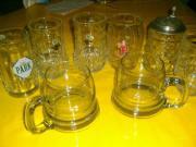 8 Bierkrüge