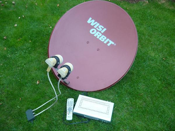 80 cm satellitensch ssel antenne sat receiver. Black Bedroom Furniture Sets. Home Design Ideas