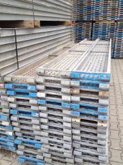 93 m² gebrauchtes Gerüst Hünnebeck Bosta 70. Baugerüst Stahlboden gebraucht kaufen  Markranstädt