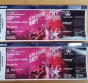 Aerosmith, 2 Tickets,