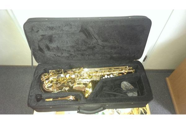 alt saxophon red rock funhorn serie ii mit restgarantie in rheinstetten blasinstrumente kaufen. Black Bedroom Furniture Sets. Home Design Ideas
