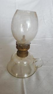 Alte antike Petroleumlampe