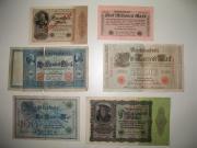 Alte Geldscheine günstig