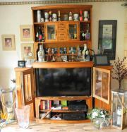 alte Küchen-Oberschränke