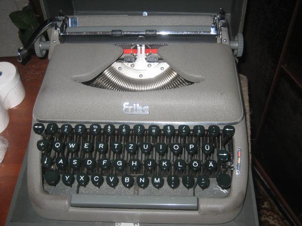 Antik schreibmaschine neu und gebraucht kaufen bei for Schaukelstuhl antik gebraucht
