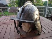 Antiker Reiter, Schützenhelm