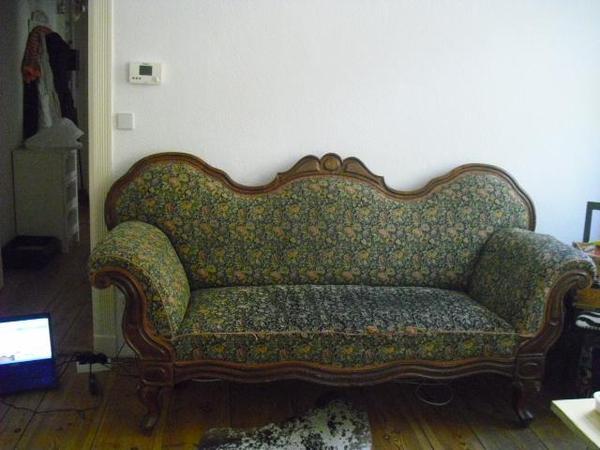 antikes sofa biedermeier in berlin polster sessel couch kaufen und verkaufen ber private. Black Bedroom Furniture Sets. Home Design Ideas