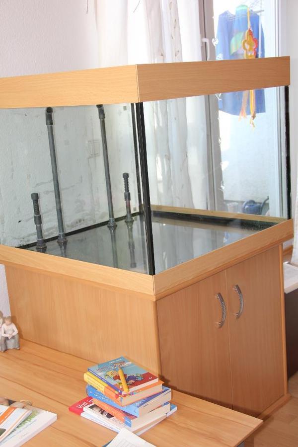 aquarium 380 l w rfelform mit kompl zubeh r und buche. Black Bedroom Furniture Sets. Home Design Ideas