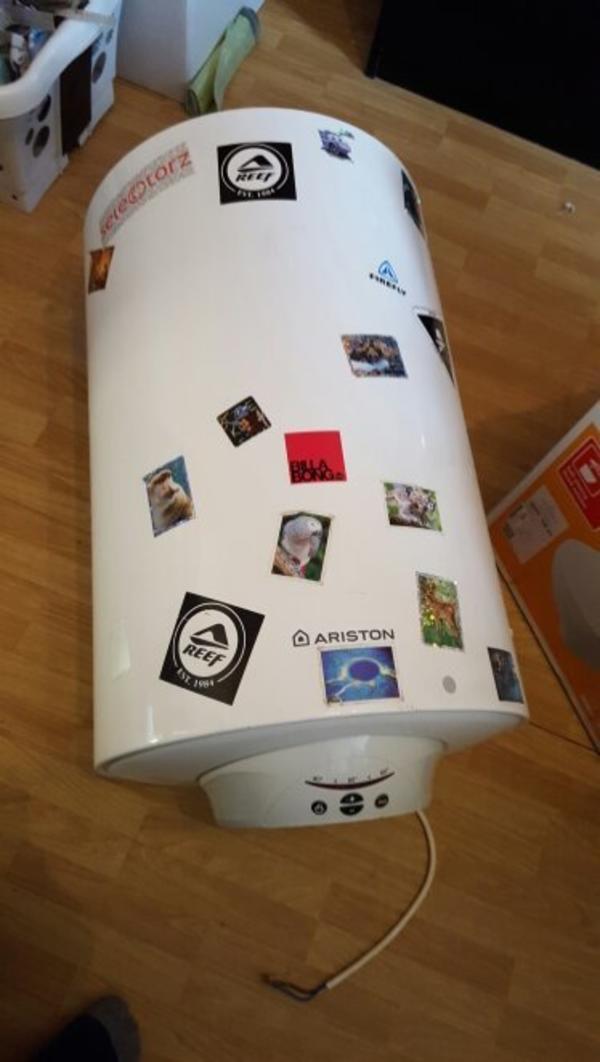 ariston warmwasserspeicher boiler 80 liter in aurach. Black Bedroom Furniture Sets. Home Design Ideas