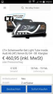 Audi A6 Scheinwerfer