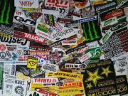 Aufkleber Motocross Sponsoren