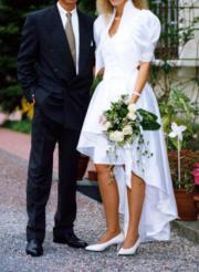 Ausgefallenes Hochzeitskleid