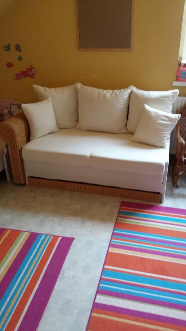 ausziehcouch wird zu cm bett in m der polster sessel couch kaufen und verkaufen. Black Bedroom Furniture Sets. Home Design Ideas
