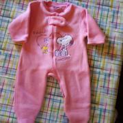 Babykleidung Fleeceanzug Peanuts