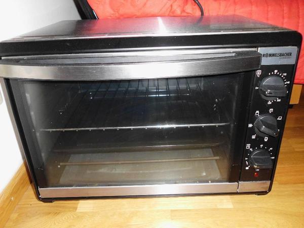 back und grillofen von rommelsbacher bg 1805 e in m nchen k chenherde grill mikrowelle. Black Bedroom Furniture Sets. Home Design Ideas
