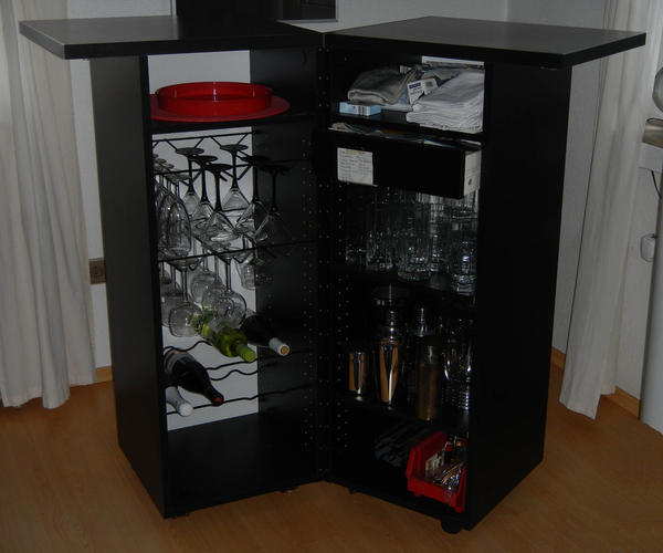 bar schrank ikea original verpackt unbenutzt in. Black Bedroom Furniture Sets. Home Design Ideas