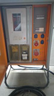 Baustromverteiler mit Kabel (