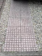 Betonplatten 40x40x4 cm