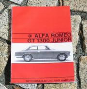 Betreibsanleitung Alfa Romeo