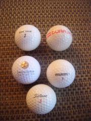 Biete 5 Golfbälle