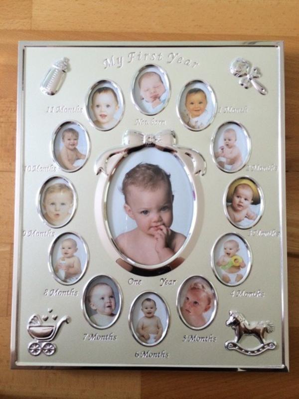 Gemütlich Baby Ersten Jahr Fotorahmen Bilder - Benutzerdefinierte ...