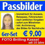 Biometrische Passbilder, Passfotos