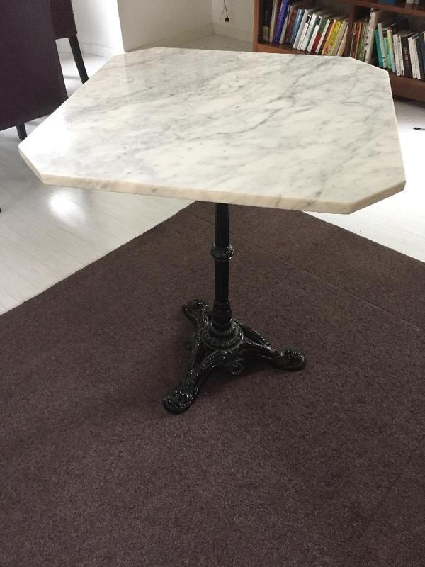bistrotisch marmor in stuttgart sonstiges f r den garten balkon terrasse kaufen und. Black Bedroom Furniture Sets. Home Design Ideas
