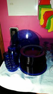 blaues Glasgeschirr, Marke