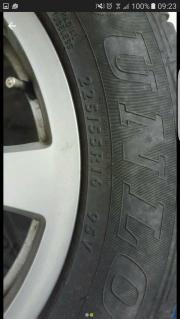 BMW Reifen auf