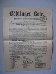 Böblinger Amtsblatt Nr.