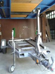 Bootstrailer 1000kg zul.