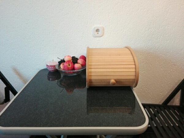 brotkasten holz kaufen gebraucht und g nstig. Black Bedroom Furniture Sets. Home Design Ideas
