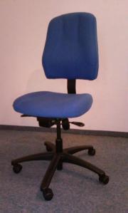 Bürostuhl blau, nicht