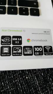 Chromebook 13 wie