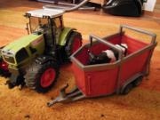 Claas Traktor mit