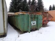 Container aus Betriebsaufgabe