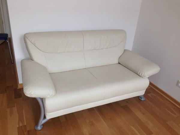 couch cremefarben 2 sitzer in leipzig polster sessel