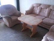 Couch + Sessel + Tisch