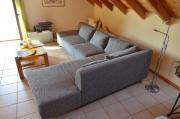Couch silbergrau